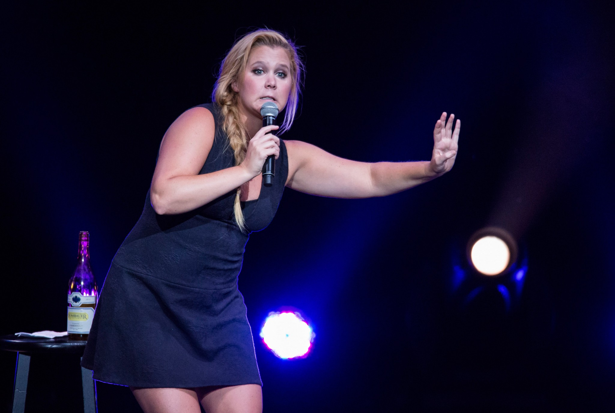 Amy Schumer got more balls after she was stalked