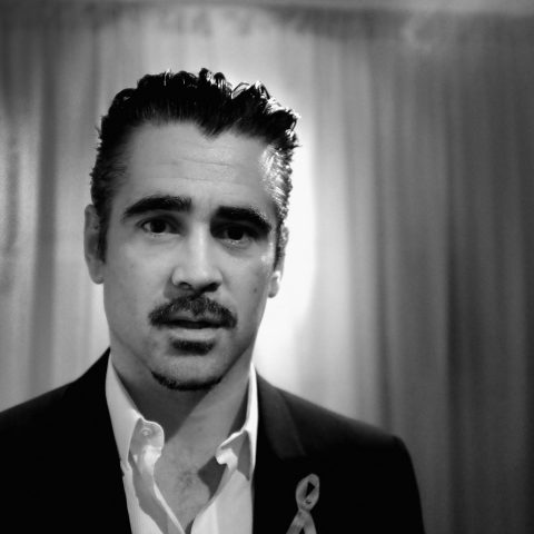 Colin Farrell insists he's content being alone