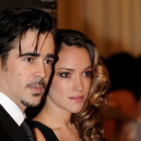 Colin Farrell with his ex-girlfriend Alicja Bachleda-Curus