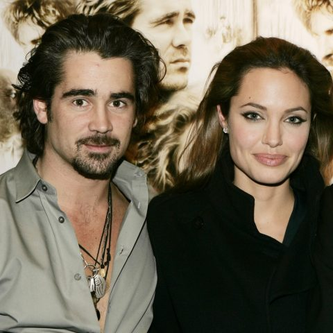 Colin Farrell dated Angelina Jolie when they met on the set of Alexander