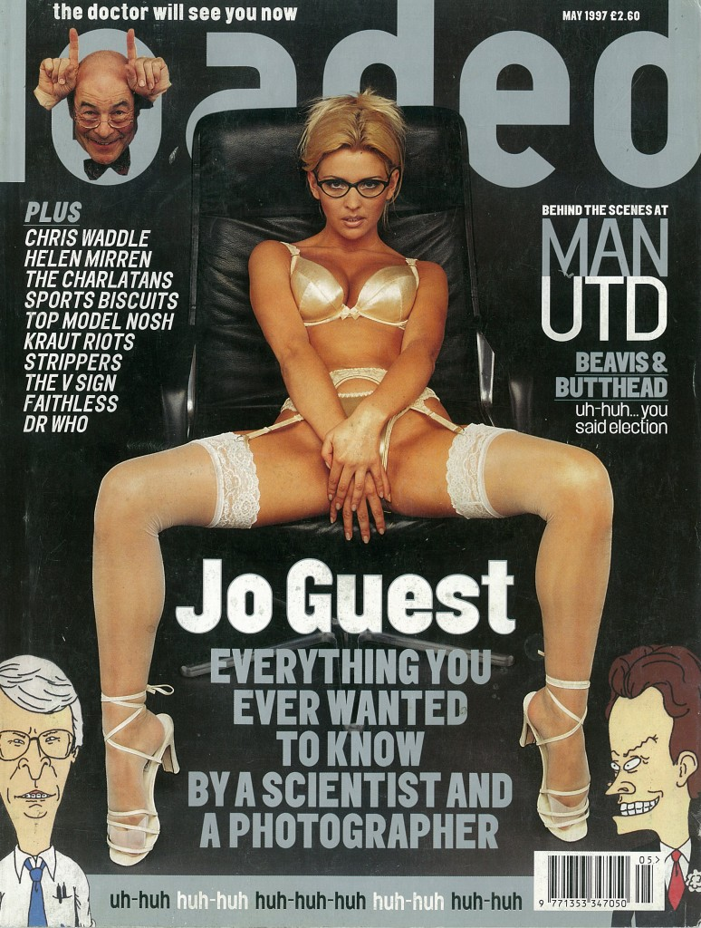 Jo Guest was Loaded's cover star the month New Labour swept to power