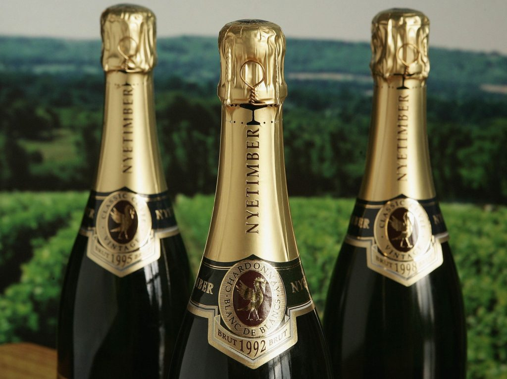 Nyetimber is rivalling big-name champagne brands