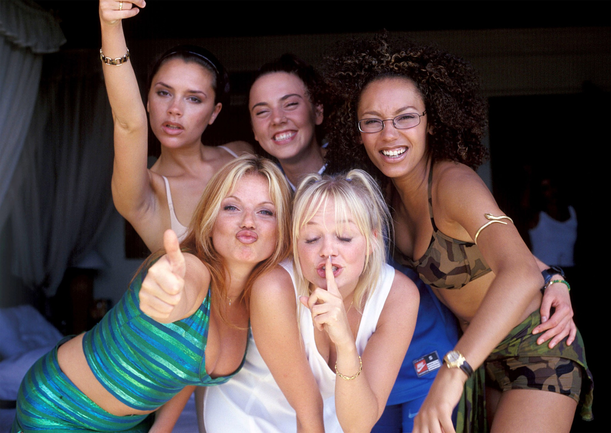 The Spice Girls thought Nelson Mandela was part of 'girl power'