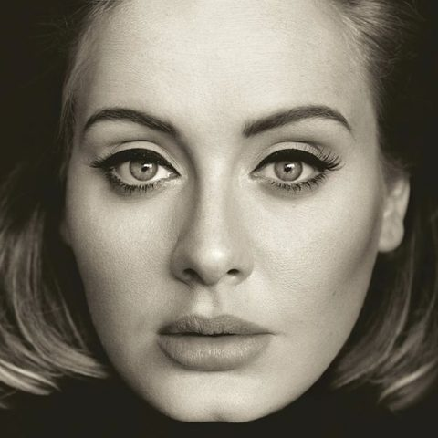 Adele's 25 album cover