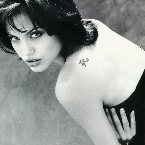 tattoos Naked angelina jolie