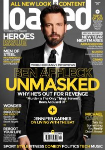 Ben Affleck Loaded magazine cover classic carousel