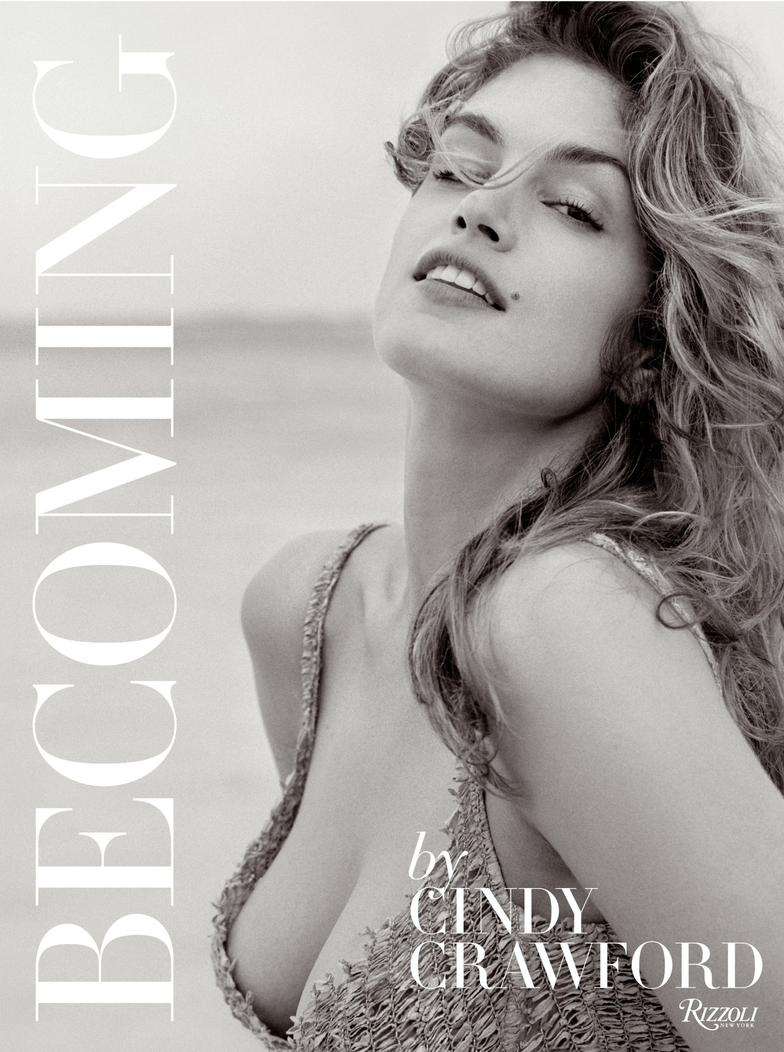 The cover of Cindy Crawford's book Becoming