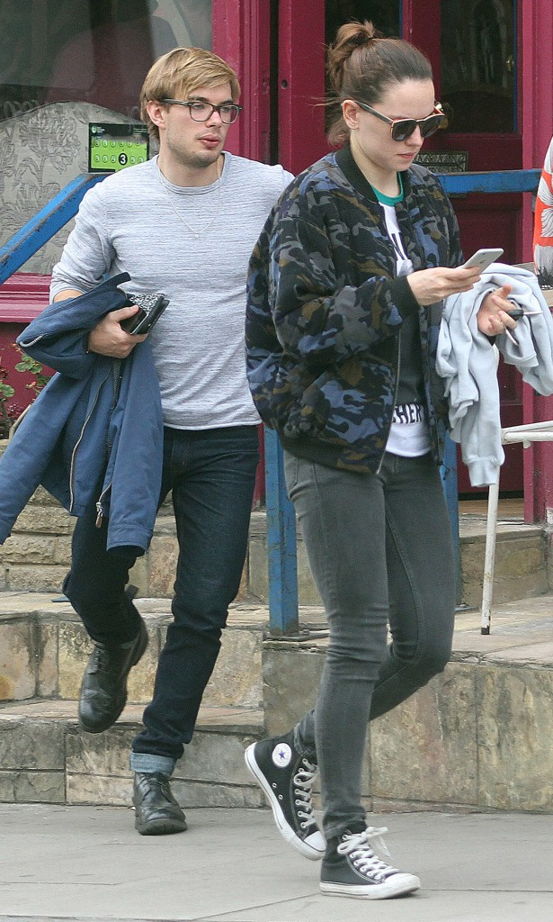 Daisy Ridley has been going out with actor Charlie Hamblett