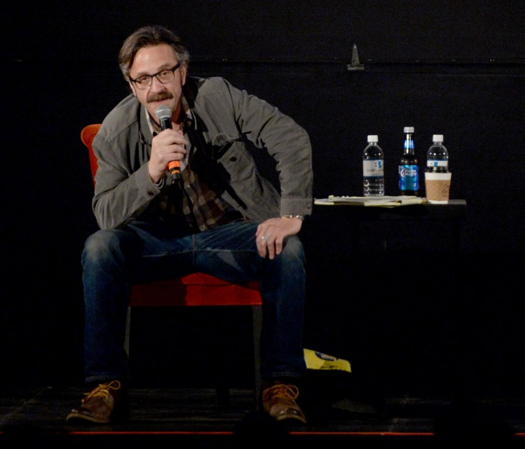 Marc Maron's WTF podcast is a global hit