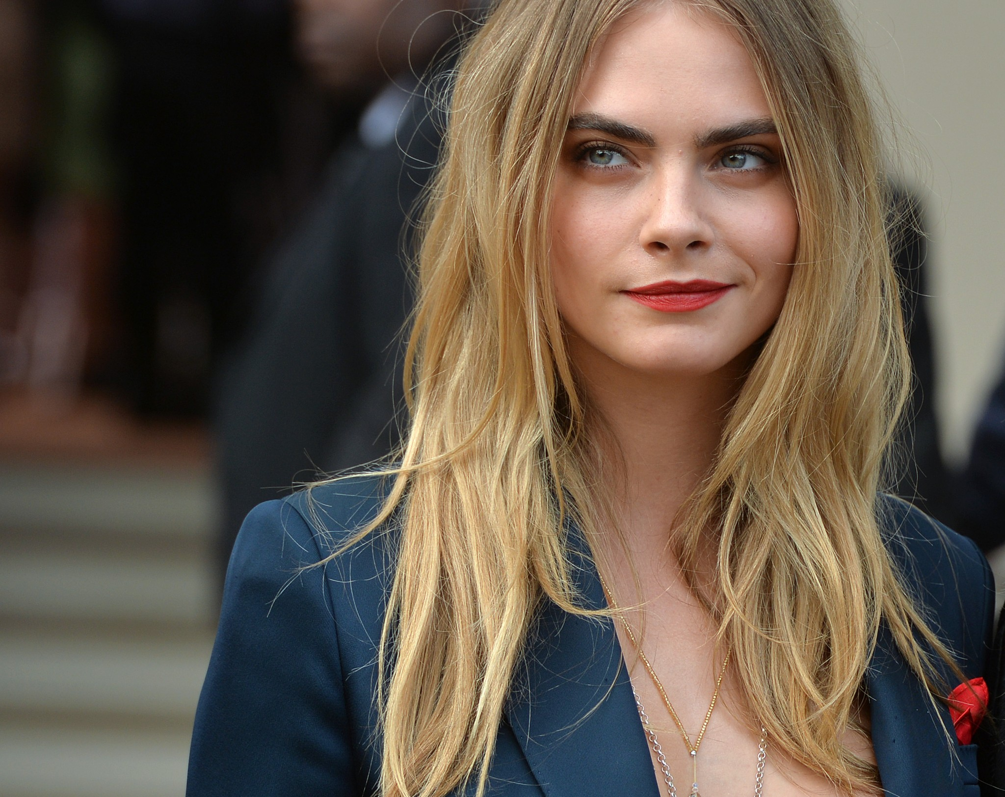 Model Cara Delevingne who is one of Loaded's top women for 21st century