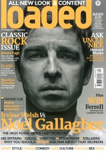 Noel Gallagher Loaded magazine cover carousel