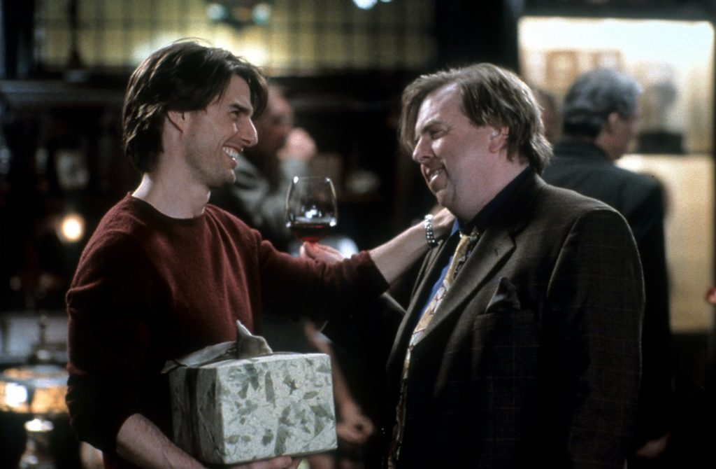Timothy Spall's Vanilla Sky character Thomas Tipp wanted the masses to read magazines again