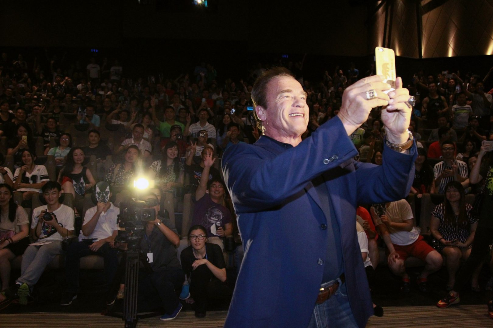 Arnold Schwarzenegger is one of the most high-profile Hollywood Redditers.
