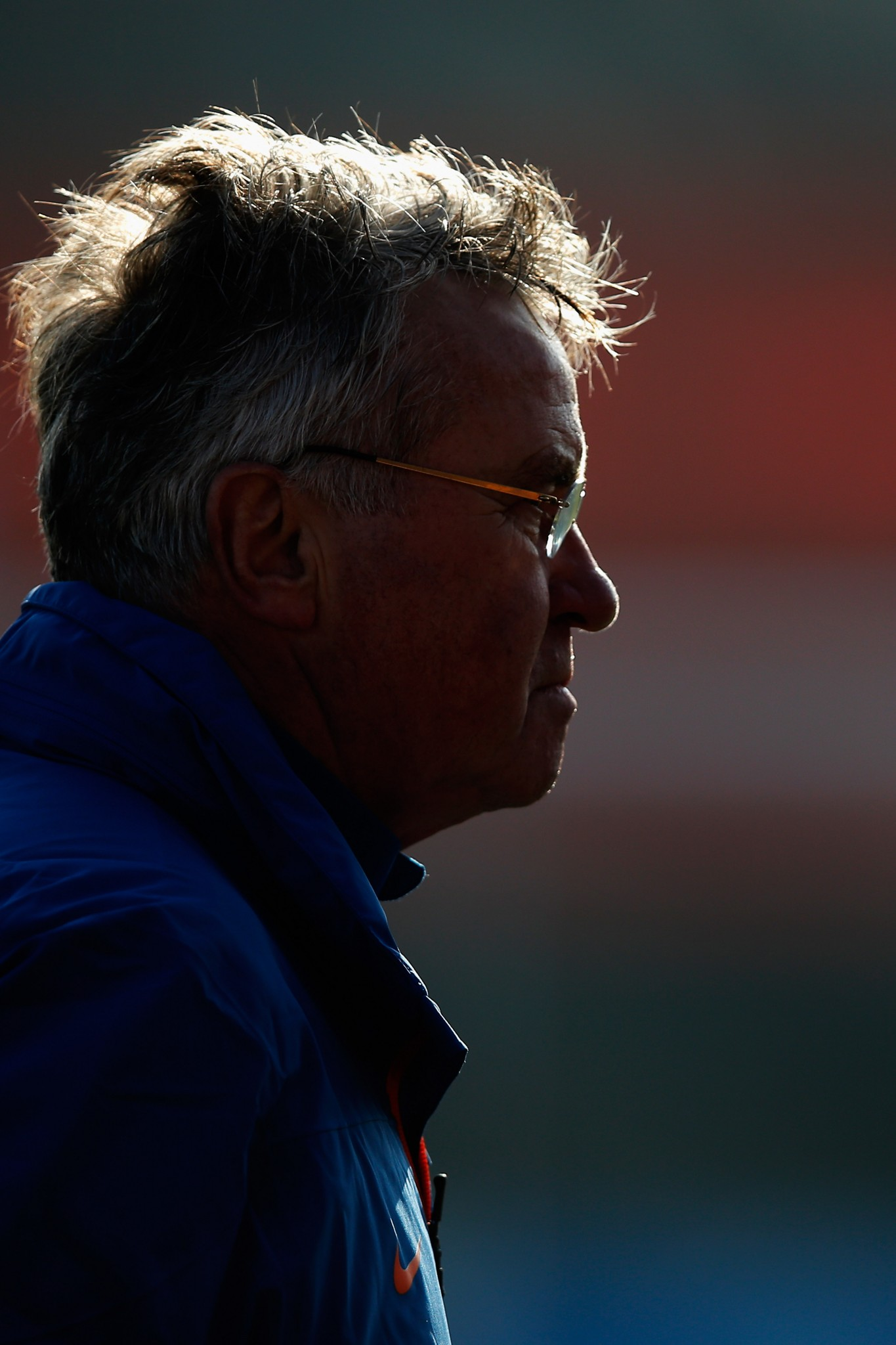 Guus Hiddink takes Netherlands Training