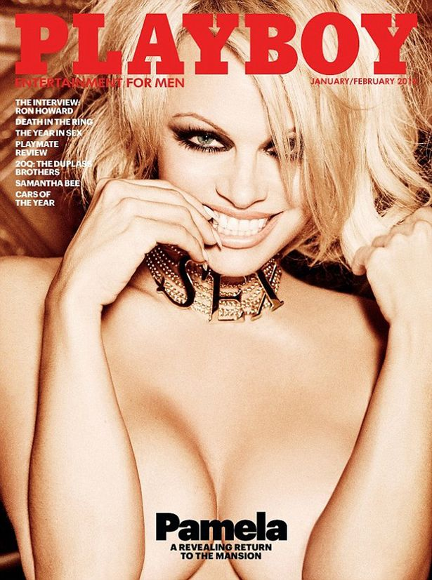 Pamela Anderson does nude shoot for Playboy