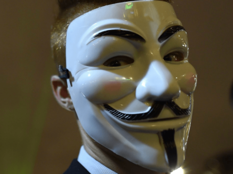 Anonymous call for Isis trolling day Loaded