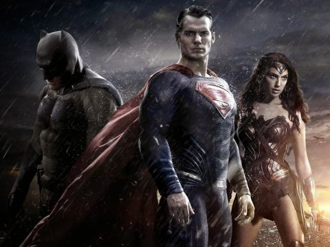 Batman vs Superman cast featuring Henry Cavill, Ben Affleck and Amy Adams