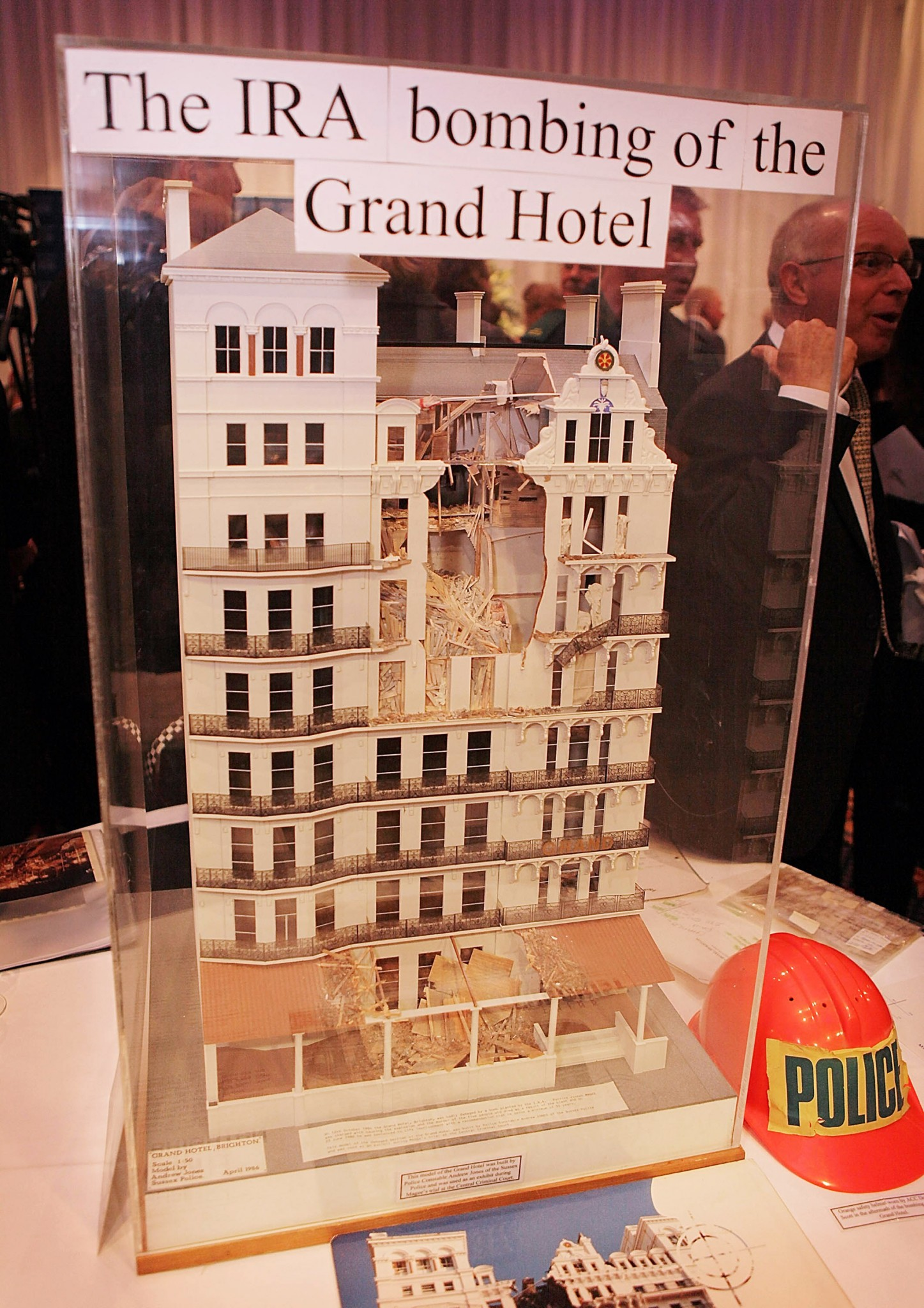 Five people died during the IRA attack on Brighton's Grand Hotel in 1984 at the Conservative Party conference