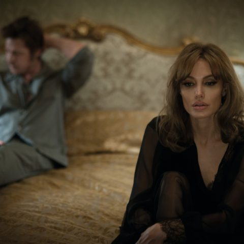 Brad Pitt and Angelina Jolie in By The Sea