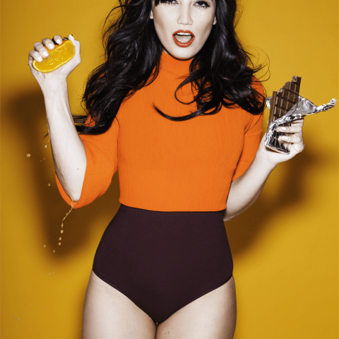 Daisy Lowe Naughty but Rice chocolate orange flavour Loaded