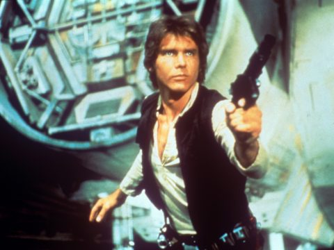 Harrison Ford as Hans Solo in Star Wars