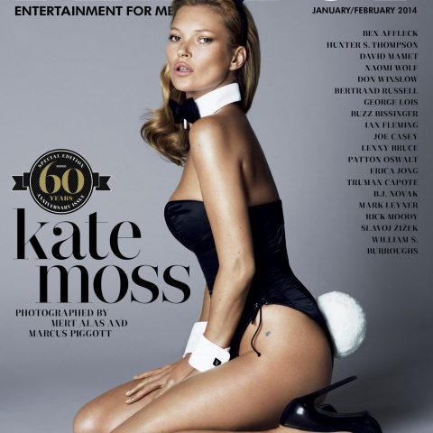 Kate Moss iconic Playboy covers Loaded
