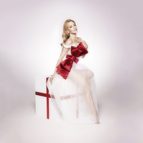 Kylie has just released a Christmas album