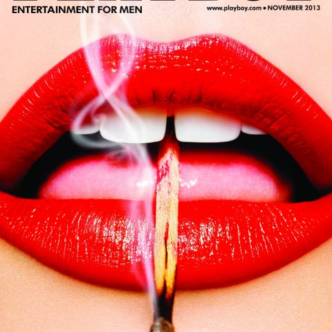 Lips iconic Playboy covers Loaded