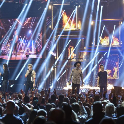 One Direction perform at BBC Music Awards