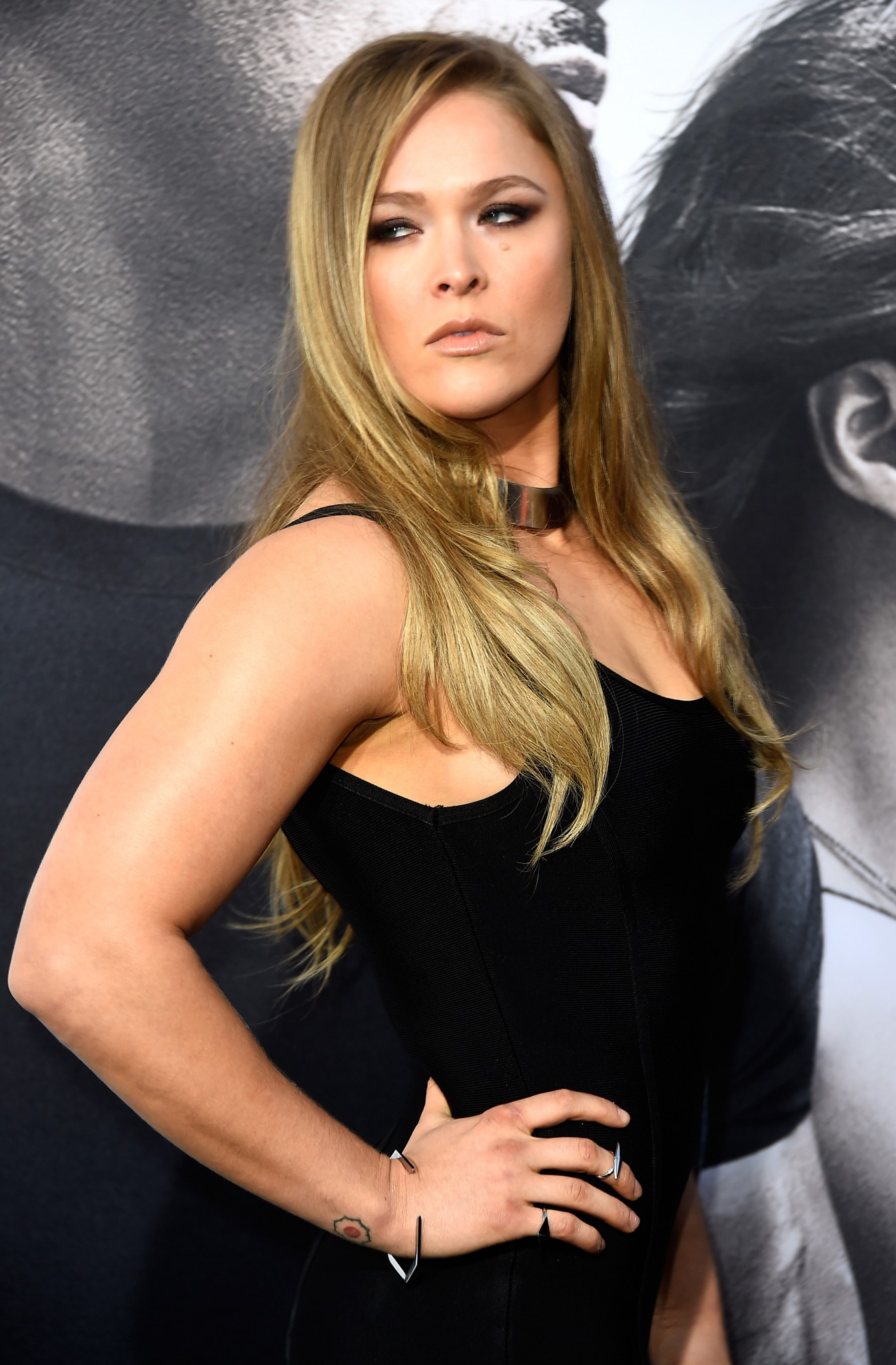 Ronda Rousey at the Fast & Furious 7 premiere