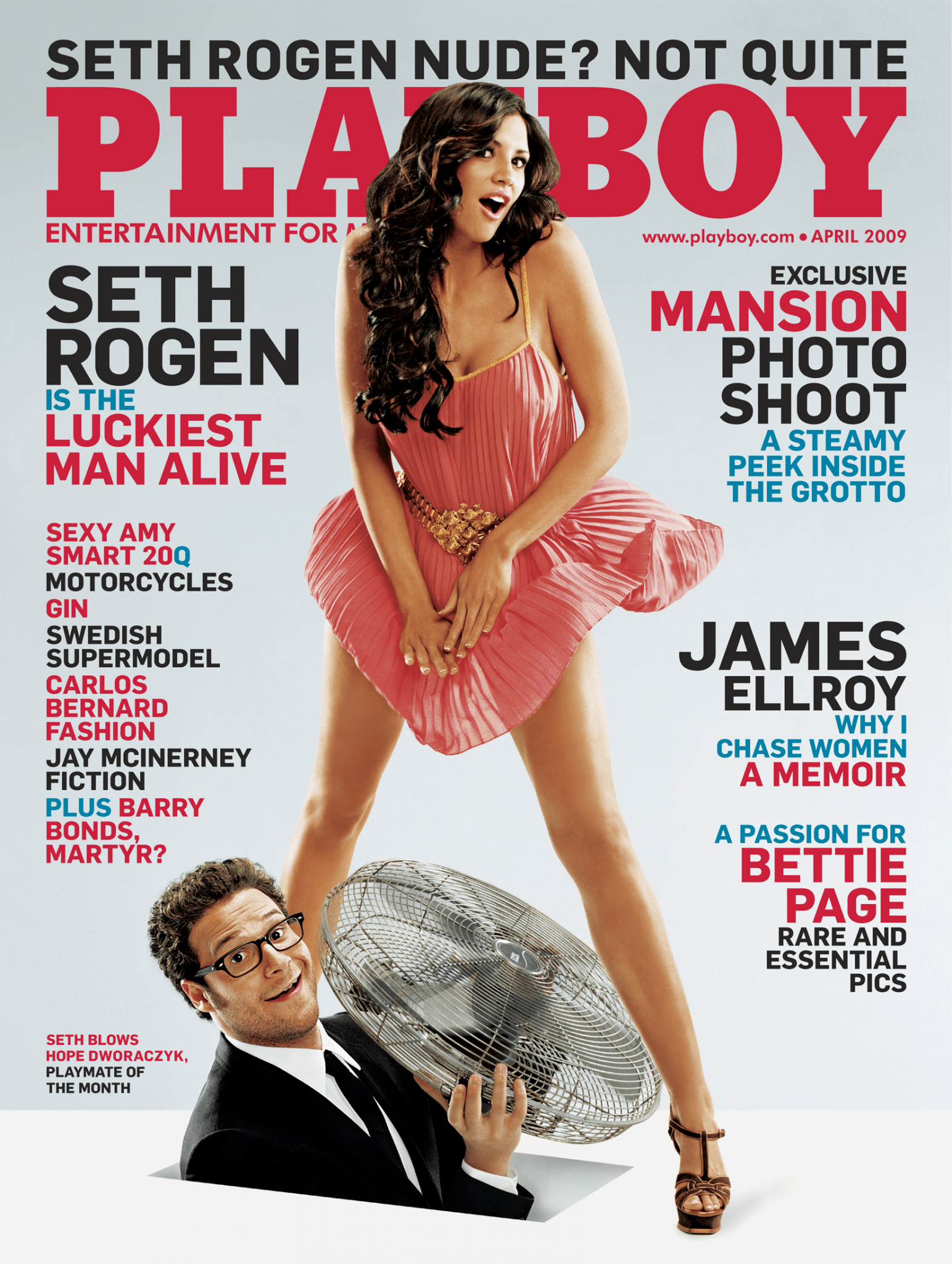 Seth Rogen iconic Playboy covers Loaded