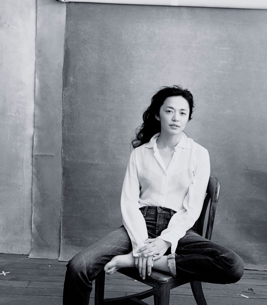 Yao Chen for Pirelli shoot with Annie Leibovitz