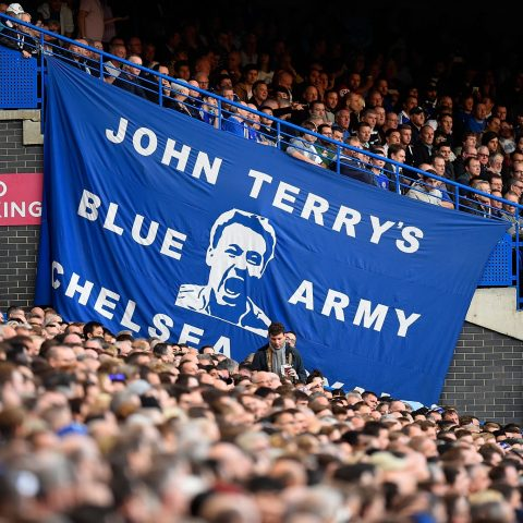 Chelsea Support During Game