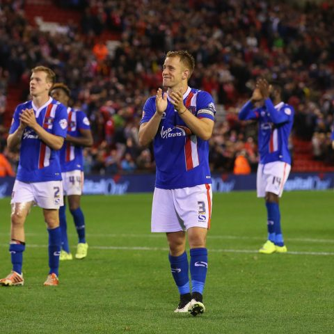 Carlisle United players thank fans for support against Liverpool