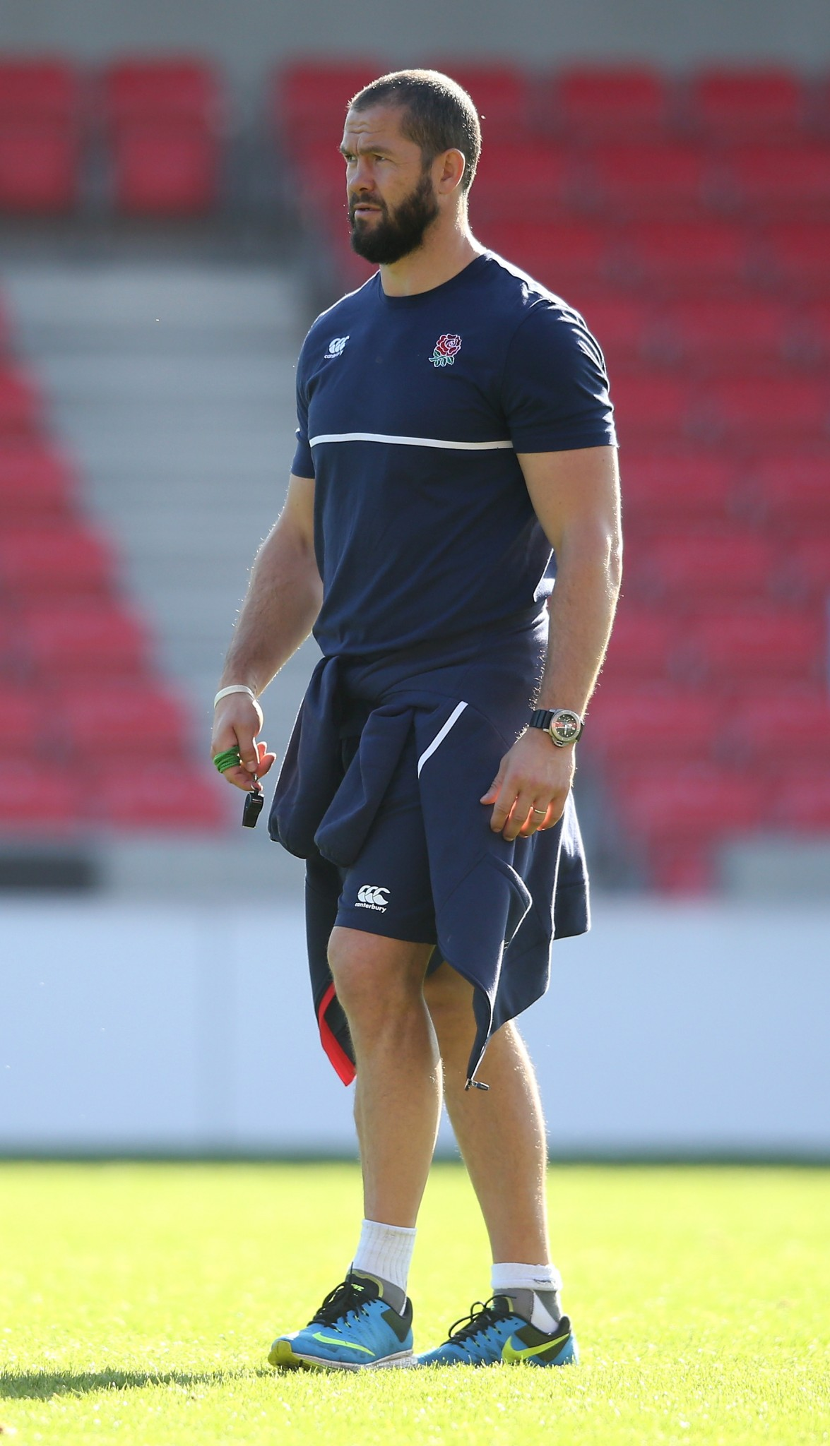 Andy Farrell with England