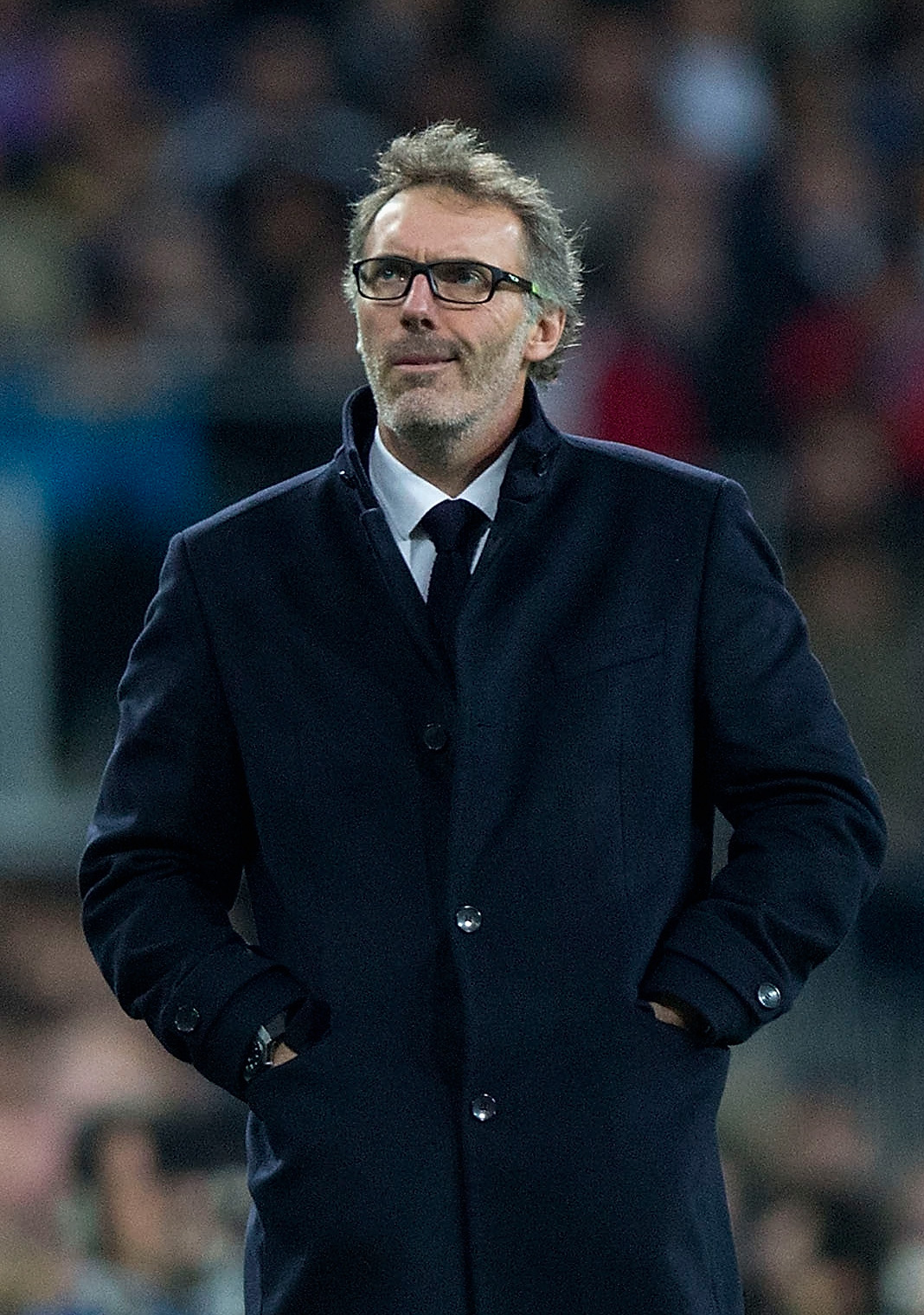 Laurent Blanc manages PSG