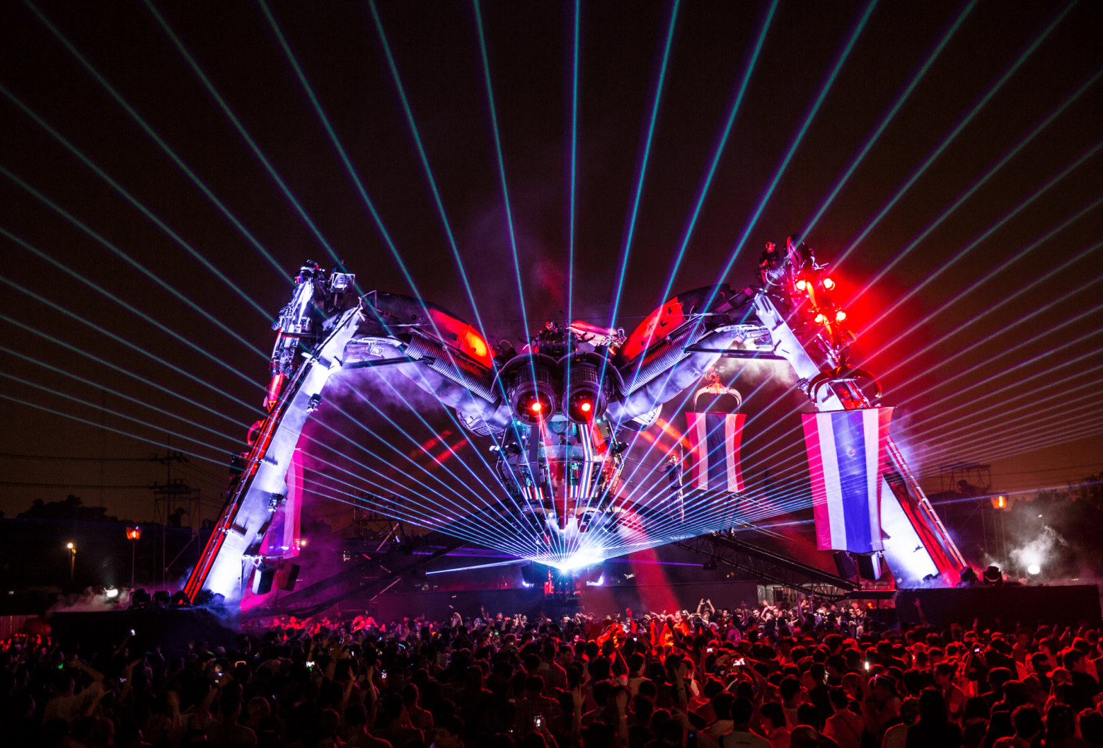 Arcadia' are planning big things for The Spider at Glastonbury this year – Loaded