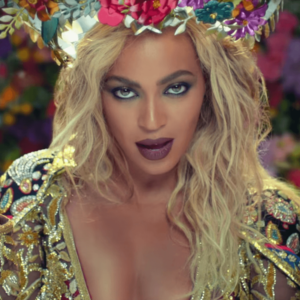 Beyonce in Coldplay song