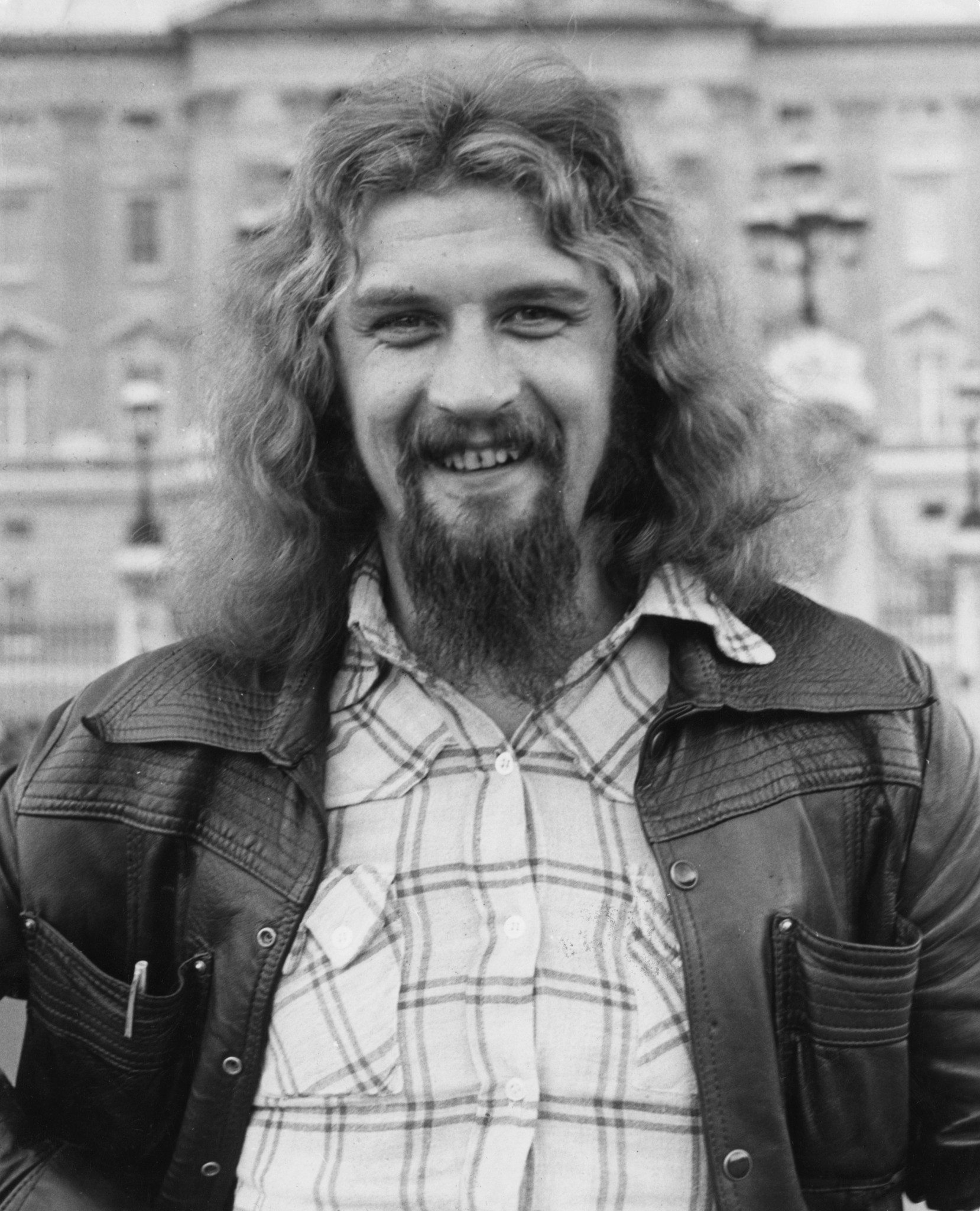Billy Connolly at the start of his career