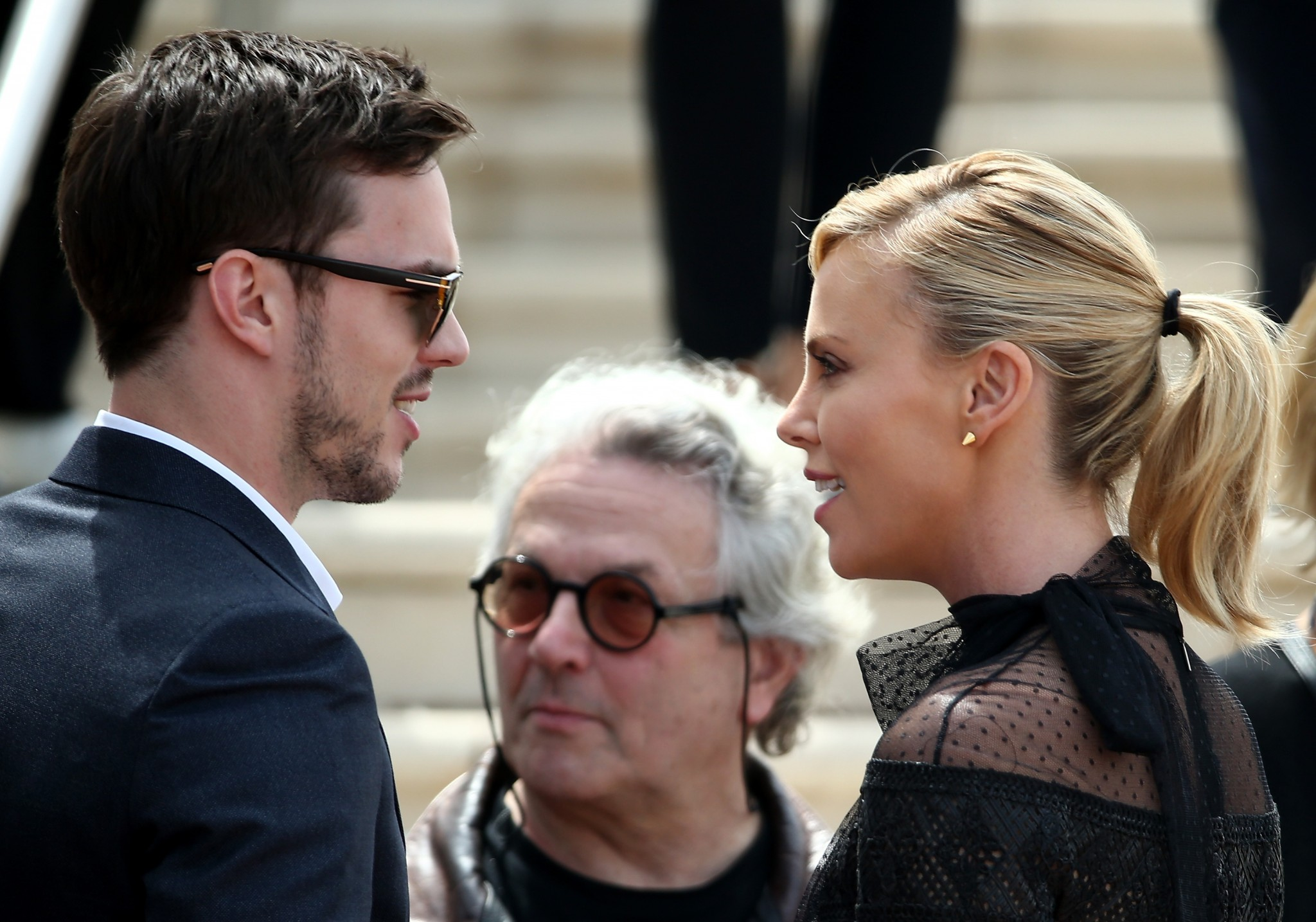 Charlize Theron and Nicholas Hoult at Cannes