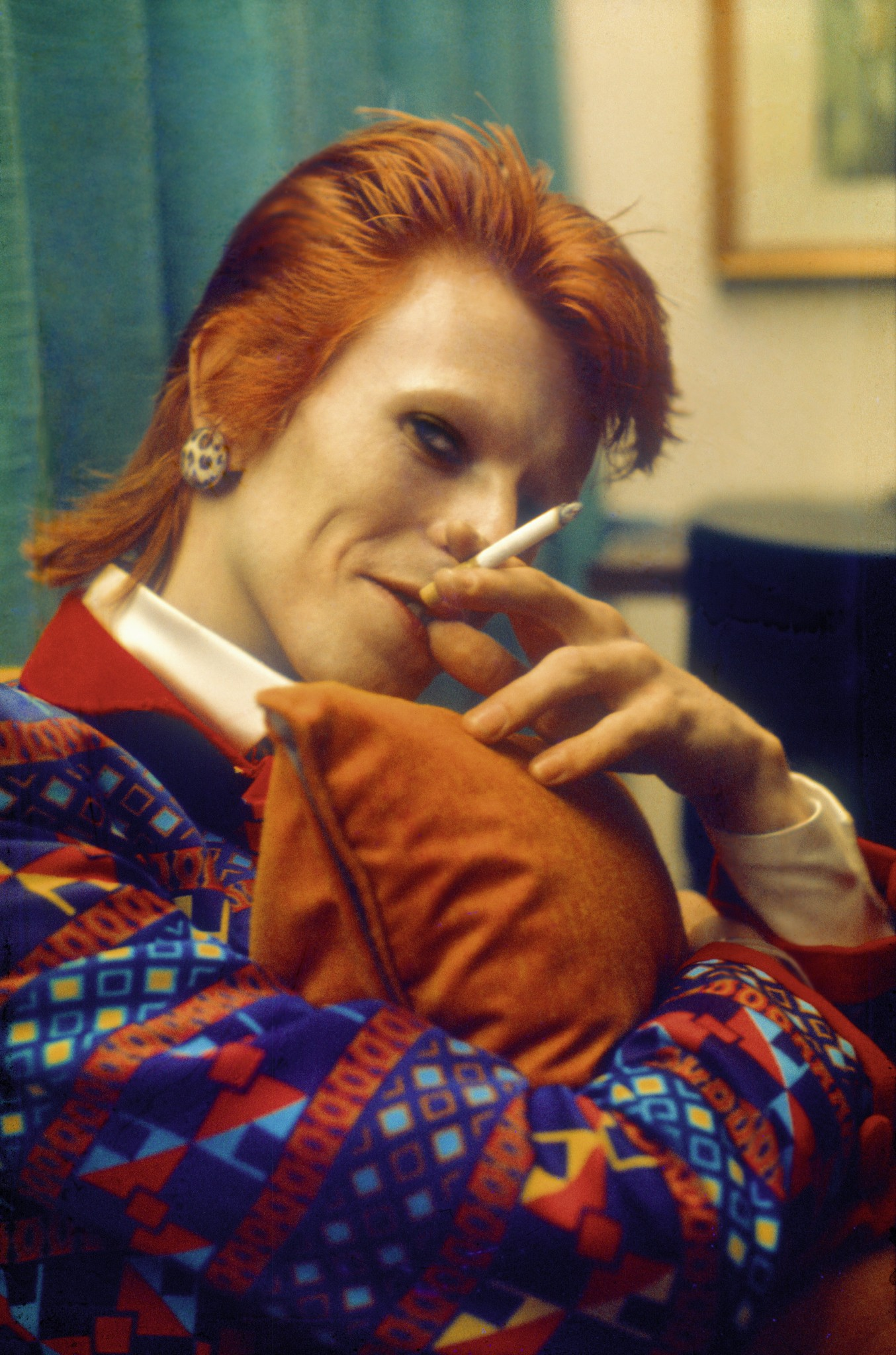 David Bowie, photographed by Mick Rock