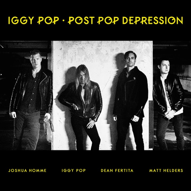 The sleeve of Iggy Pop and Josh Homme's joint album Post Pop Depression