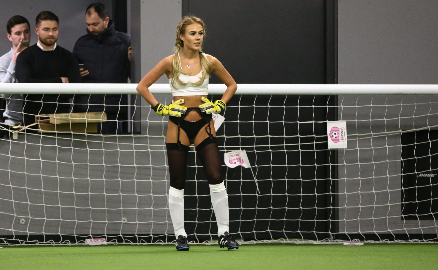 Lingerie Football League game at Manchester's Hotel Football
