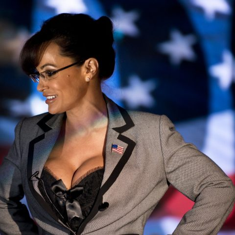Lisa Ann poses as Serra Palin – Loaded