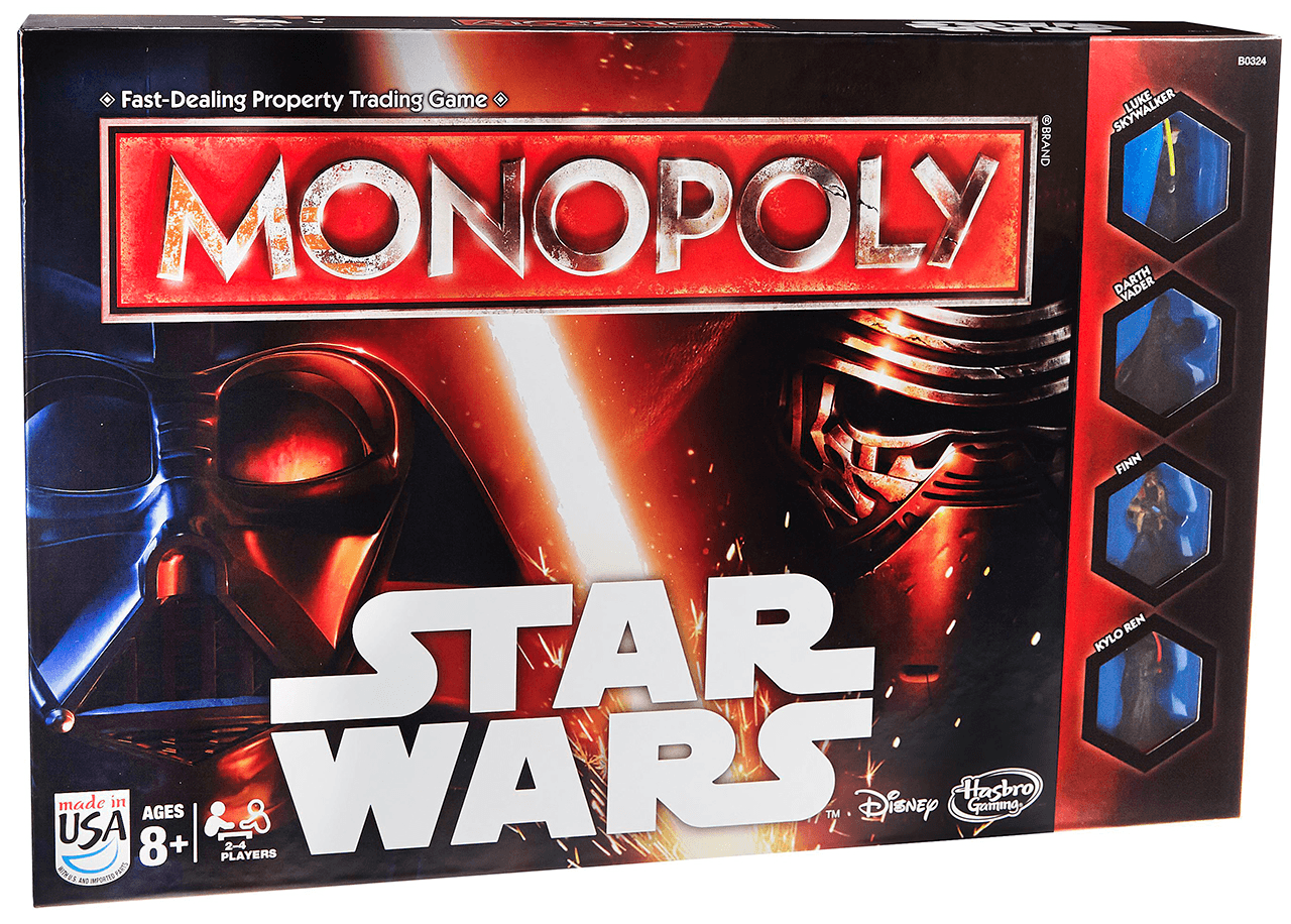 Star Wars Monopoly has only just added Rey to the game