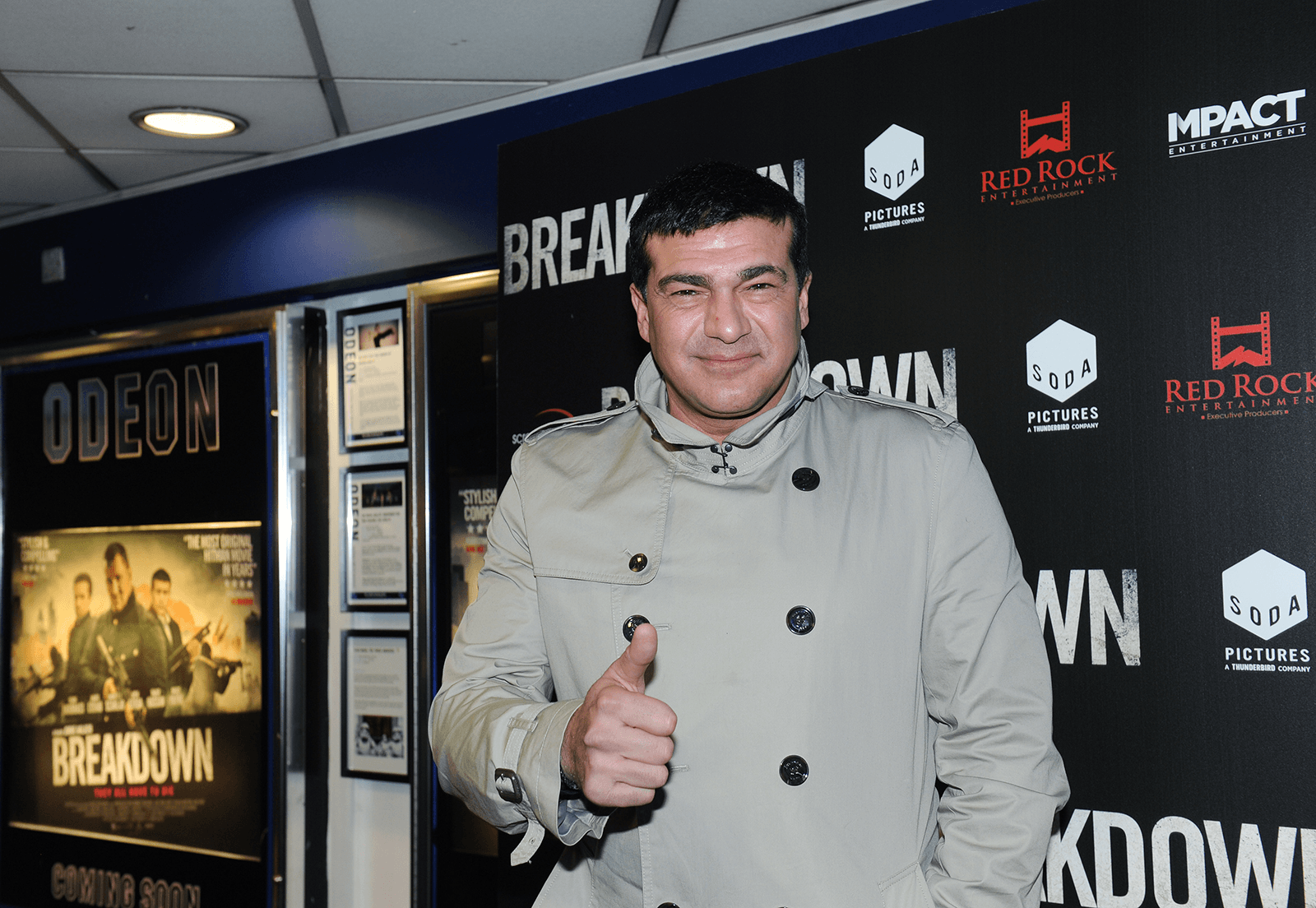 Tamer Hassan at the Breakdown premiere