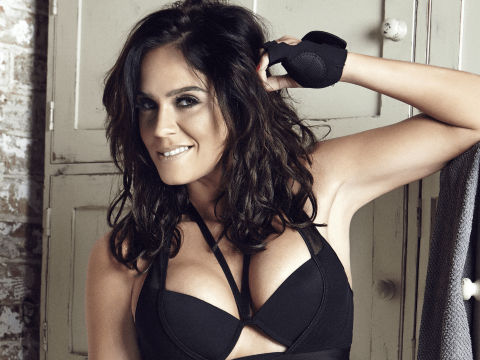 Vicky Pattison posing in a new photoshoot.