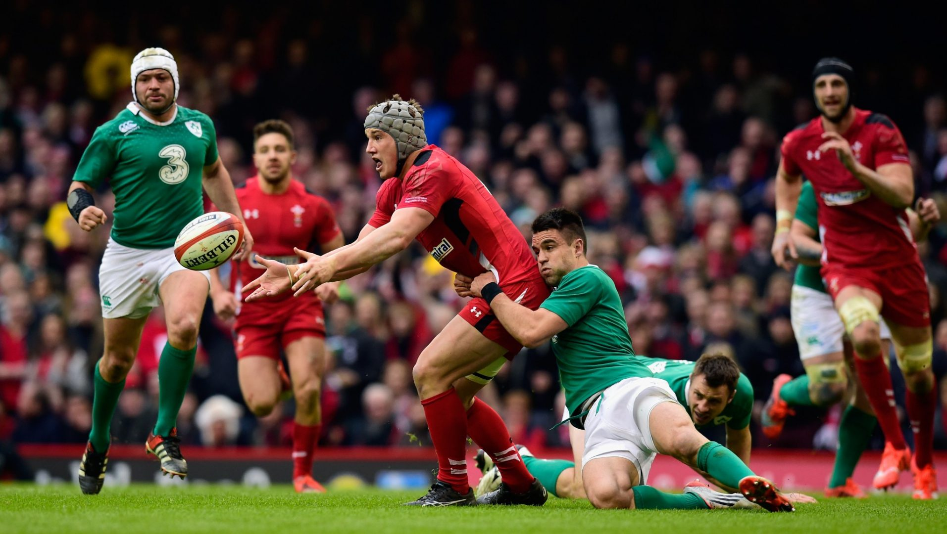 Wales v Ireland in the RBS Six Nations