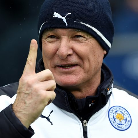 Claudio Ranieri has Leicester on top of the Premier League