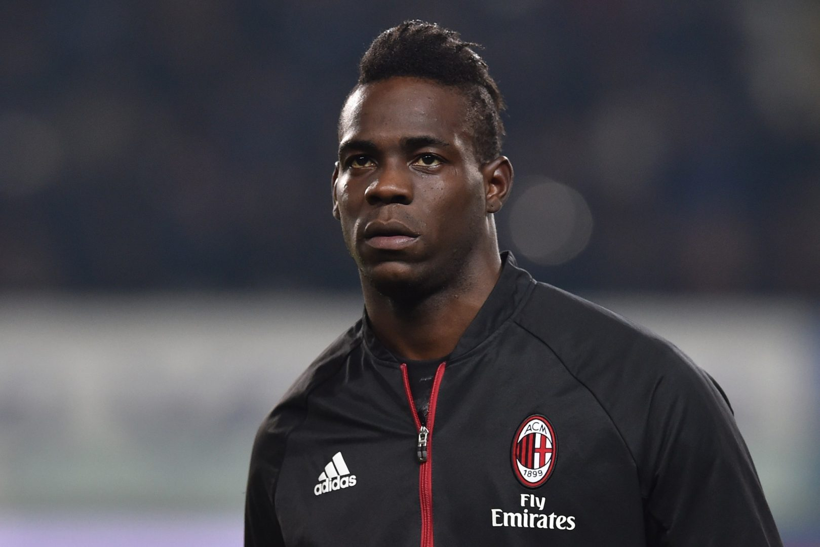 Mario Balotelli could be heading out of the door at AC Milan.
